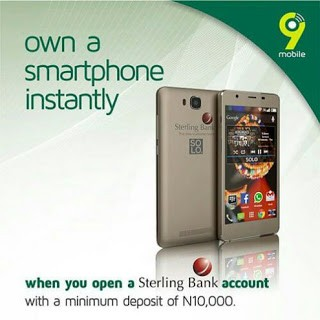 Sterling Bank partners 9Mobile
